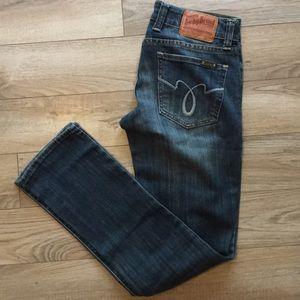 Lucky Brand dark jeans 2/ 26